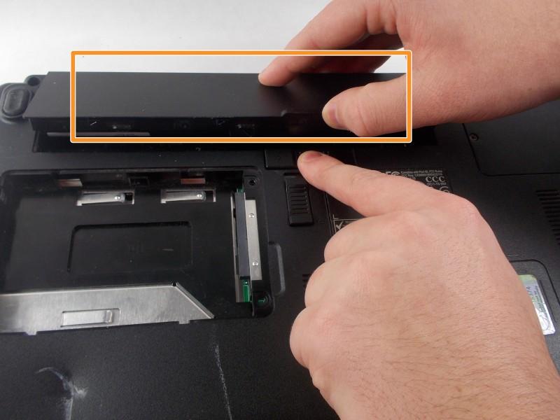 Замена дисковода в Dell Inspiron B130