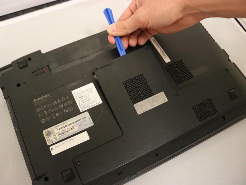 Замена платы Wi-Fi в ноутбуке Lenovo B575-1450