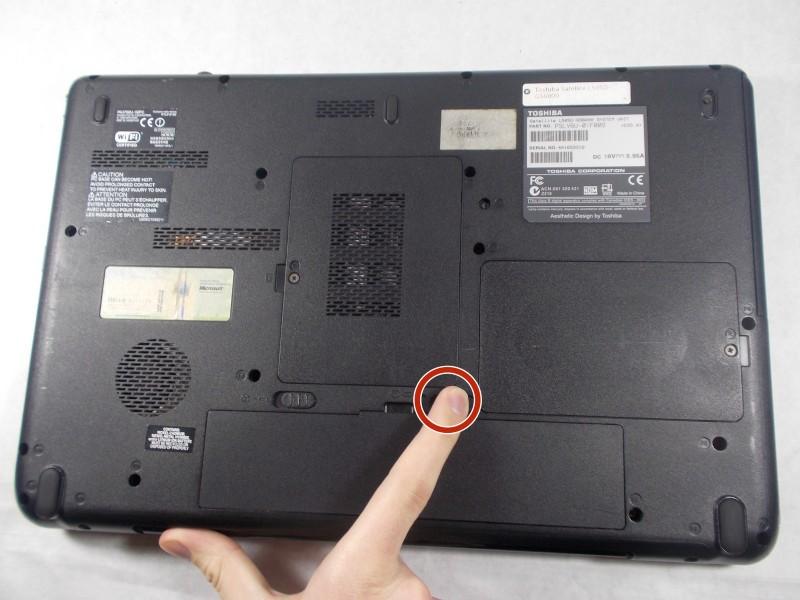 Замена DVD дисковода на Toshiba Satellite L505D-GS6000