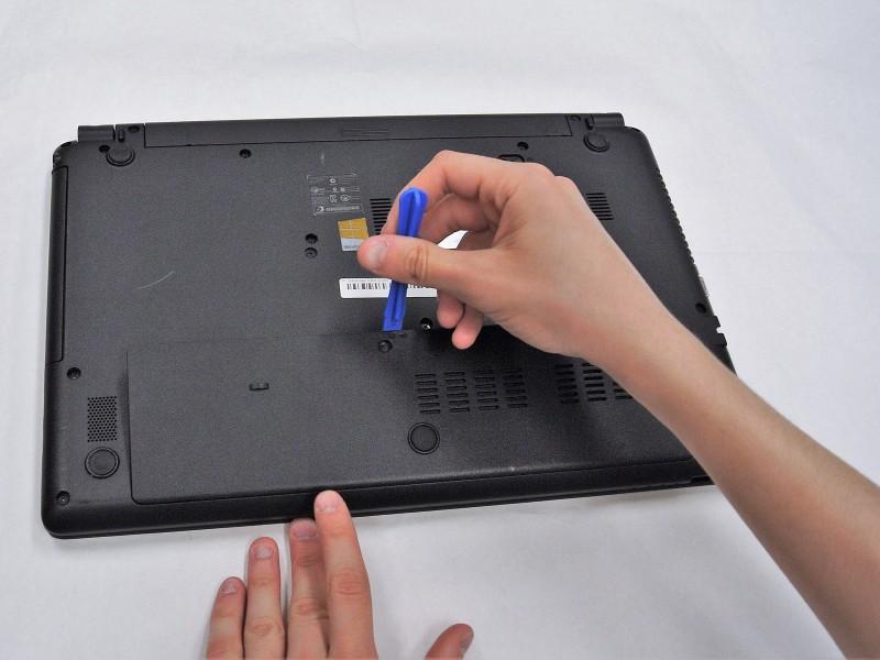 Замена платы ОЗУ в ноутбуке Gateway NE51006u