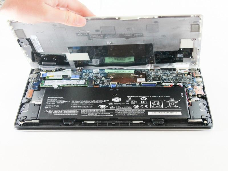 Замена порта питания в ноутбуке Lenovo Yoga 700-11ISK