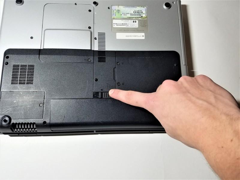 Замена клавиатуры в ноутбуке HP Pavilion dv4000