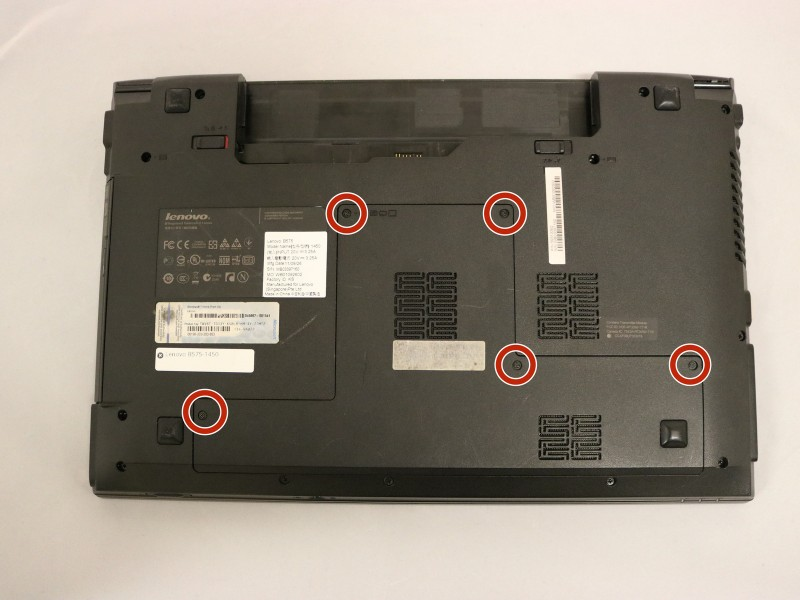 Замена оперативной памяти в ноутбуке Lenovo B575-1450