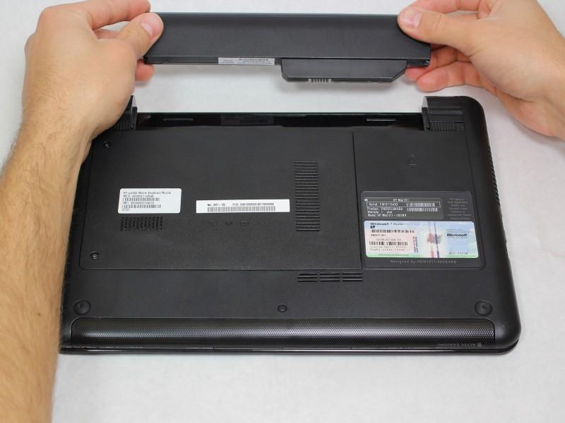 Замена беспроводной сетевой карты в нетбуке HP Mini 311