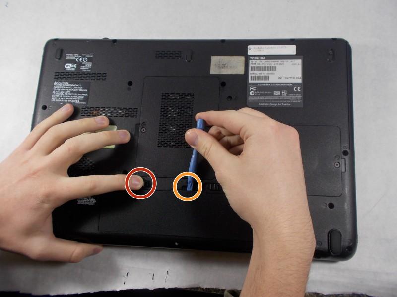 Замена ОЗУ в ноутбуке Toshiba Satellite L505D-GS6000