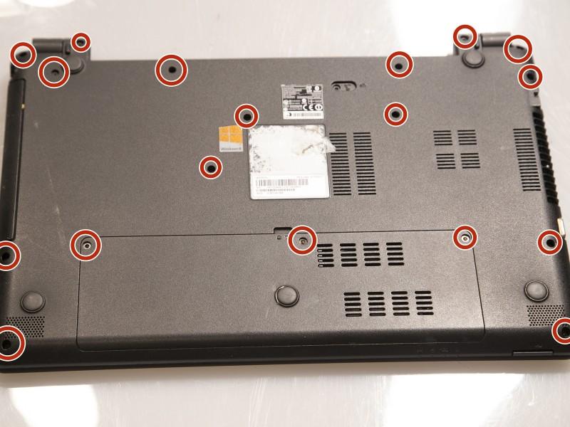 Замена беспроводной карты Gateway NE52203u
