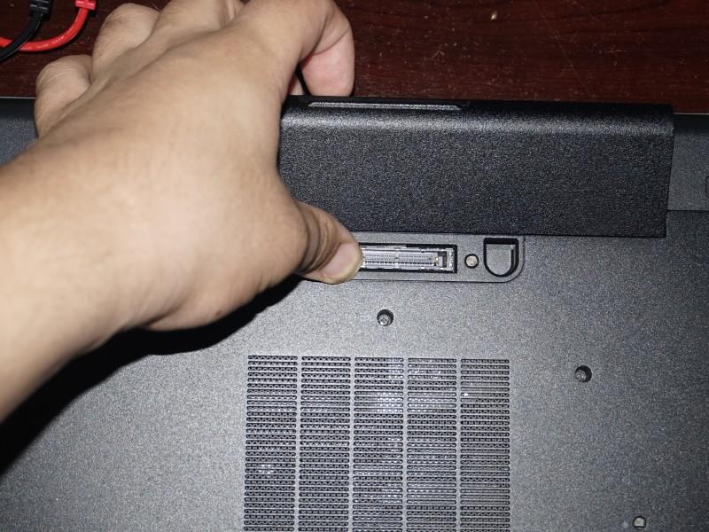 Замена жесткого диска Dell Latitude E6540