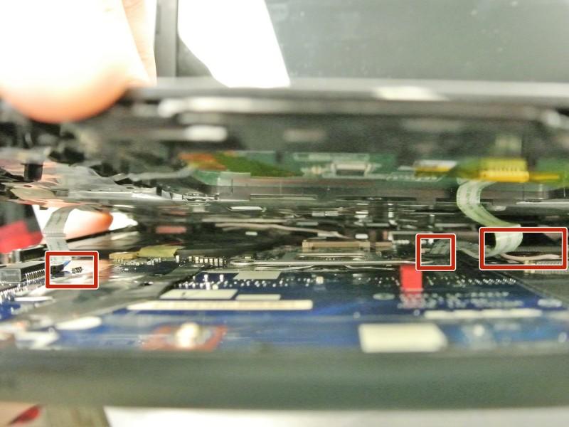 Замена ЖК-экрана в ноутбуке Gateway NE51006u