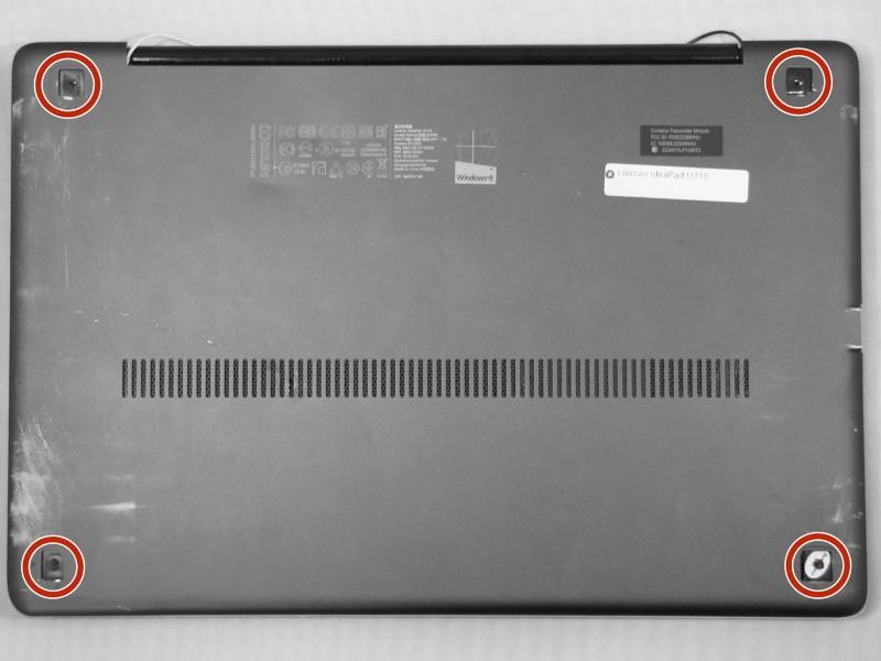 Замена экрана в ноутбуке Lenovo IdeaPad U310