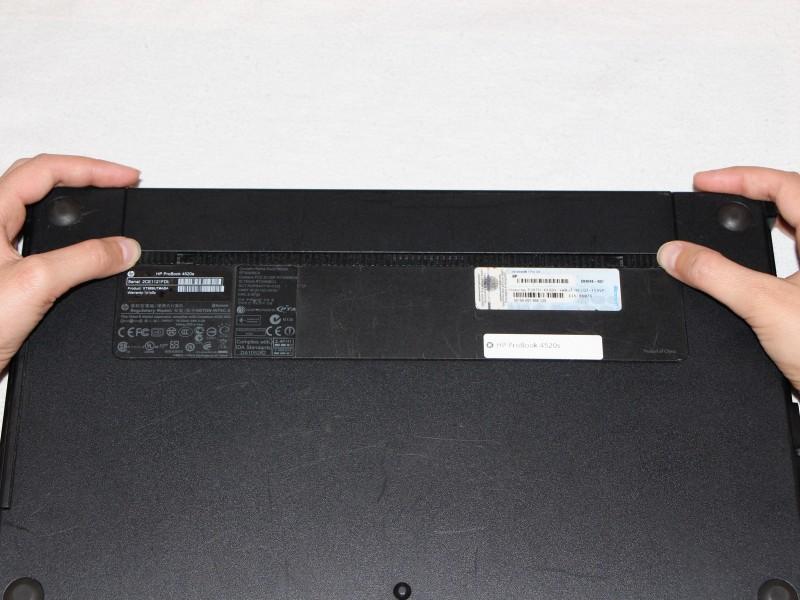 Замена жесткого диска в ноутбуке HP ProBook 4520s