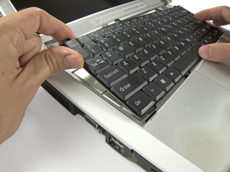 Замена плат ОЗУ в ноутбуке Dell Inspiron 700m