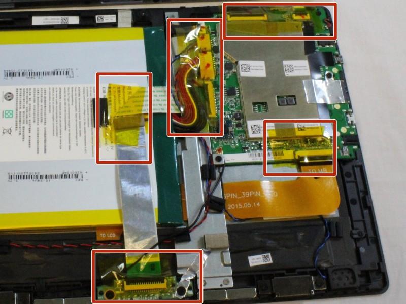 Замена материнской платы в Acer One 10 S1002 145-A
