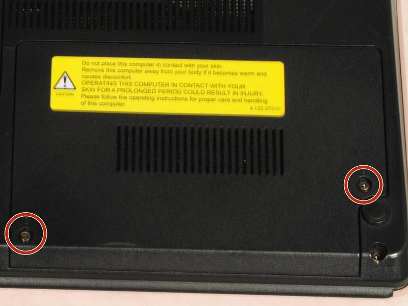 Замена жесткого диска в ноутбуке Sony Vaio VPCW21FX