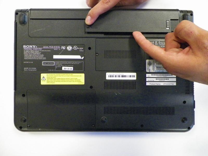 Ремонт ноутбуков своими руками sony vaio 26