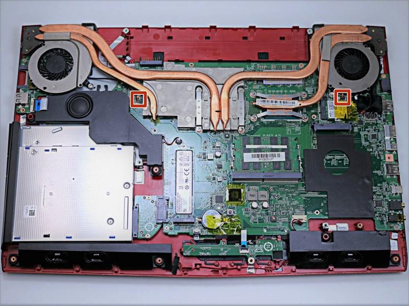 Замена клавиатуры в ноутбуке MSI GE72 6QF Apache Pro