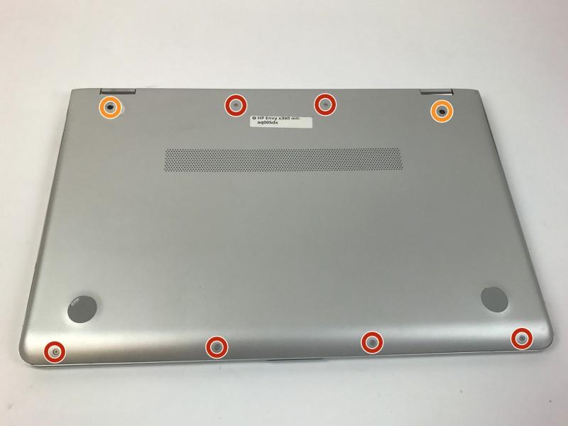 Замена задней панели HP Envy x360 m6-aq005dx