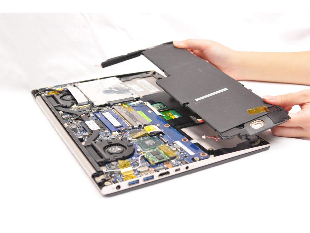 Замена жесткого диска ноутбука Asus Zenbook UX32VD