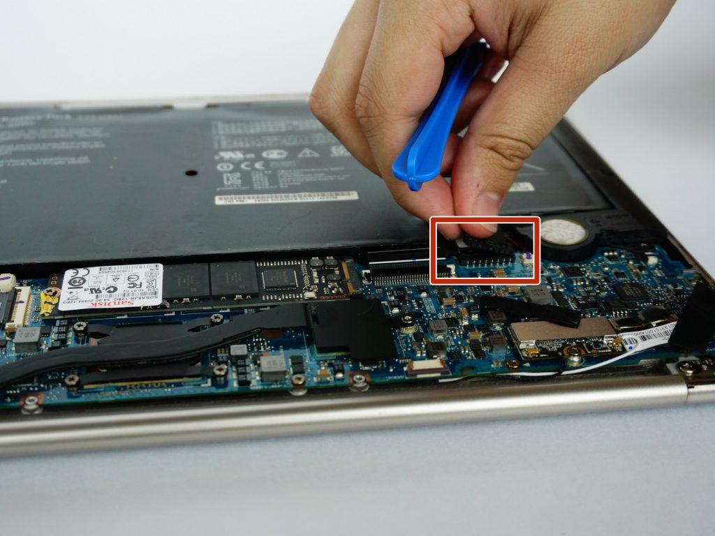 Замена батареи ноутбука Asus Zenbook UX31E