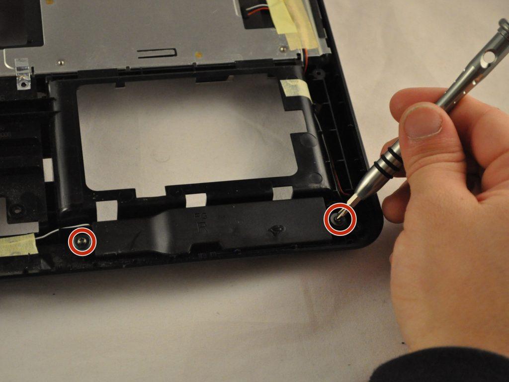 Замена динамиков на ноутбуке Asus K50IJ