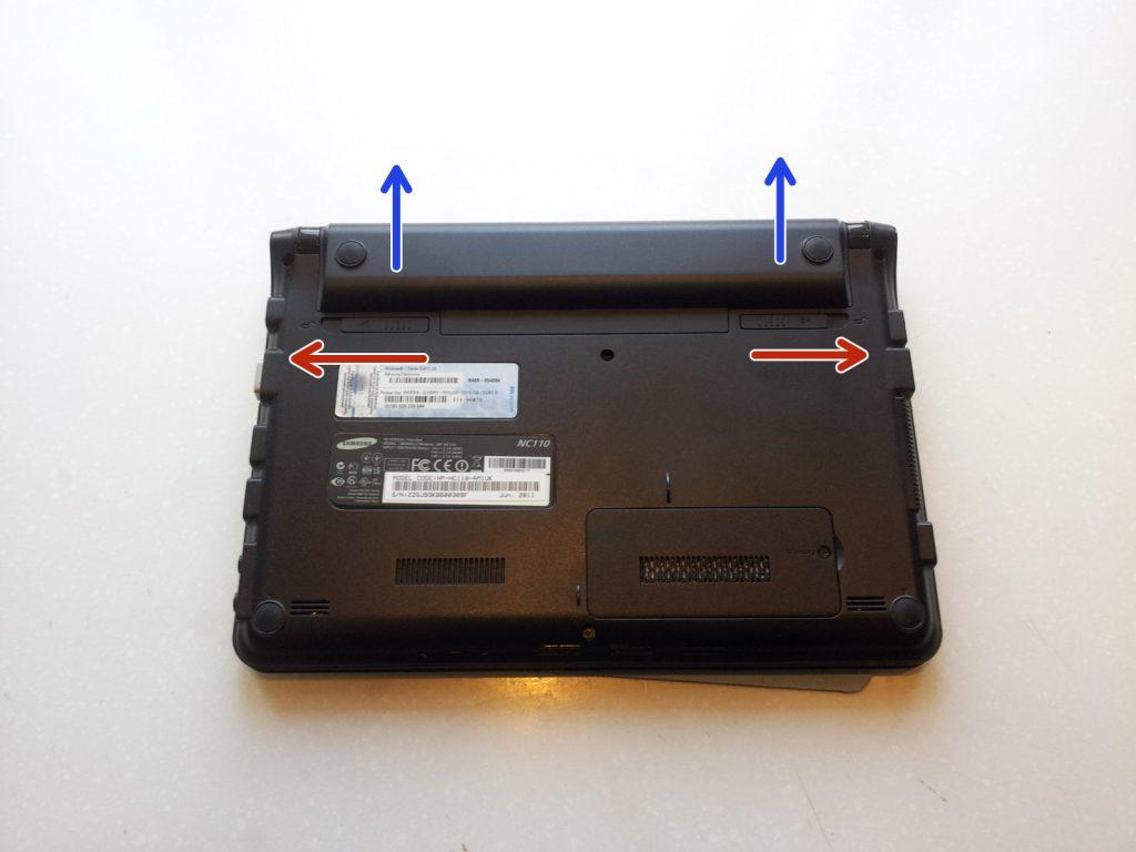 Замена дисплея ноутбука Samsung NC110